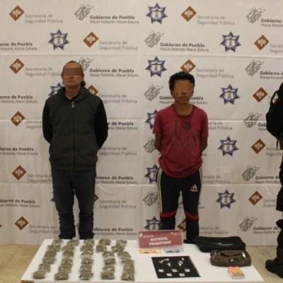 Detienen a dos narcomenudistas de la banda criminal de