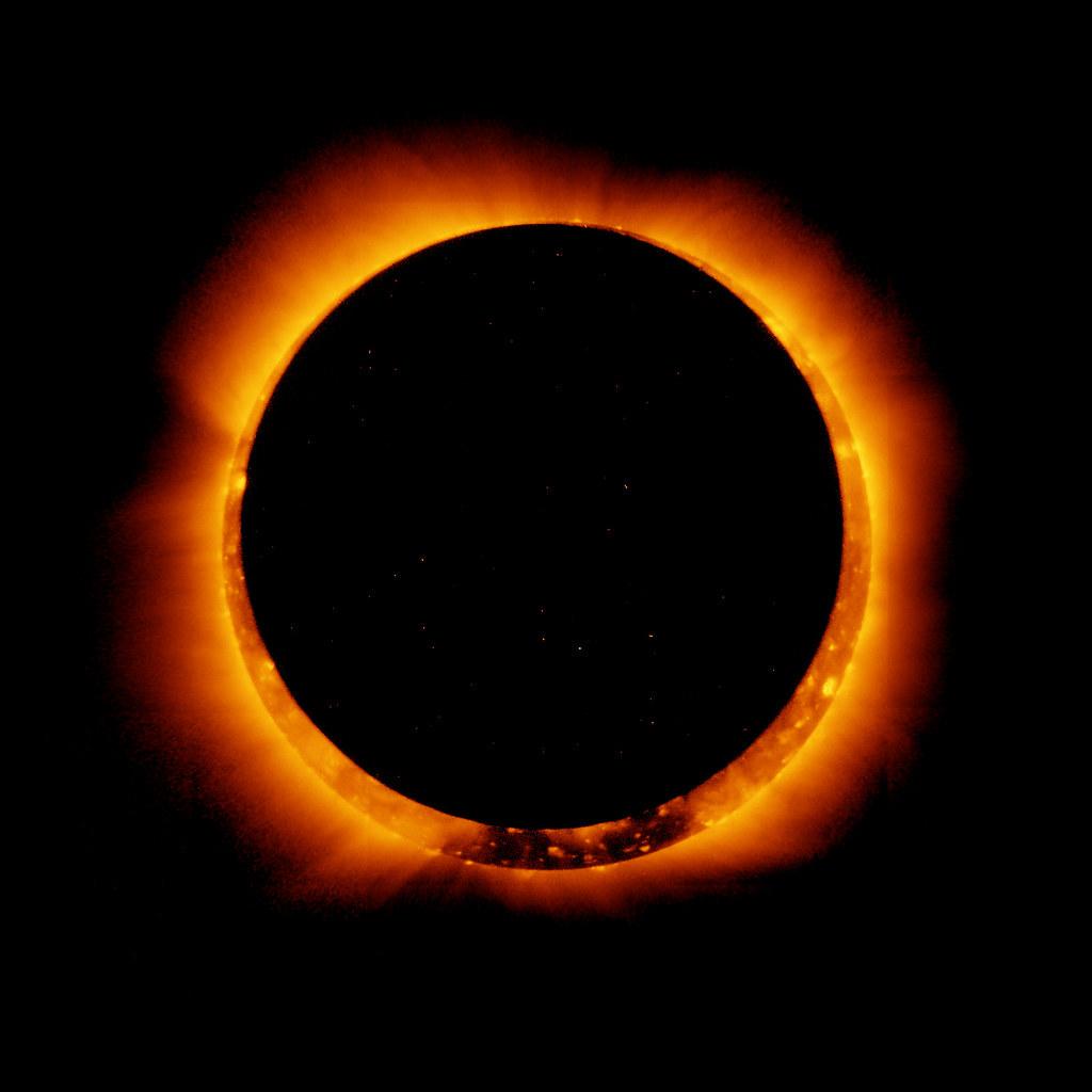 Eclipse anular de Sol, Anillo de Fuego