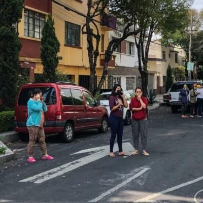 Suman dos personas lesionadas en la CDMX tras sismo de magnitud 7.5