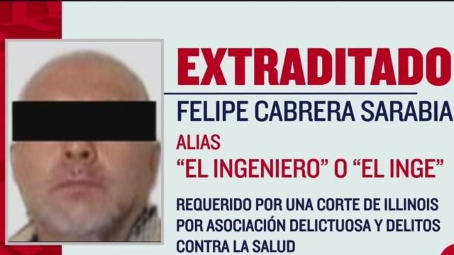 FOTO: 'El Ingeniero', operador de 'Chapo' Guzmán, es entregado a Estados Unidos, el 14 de junio de 2020