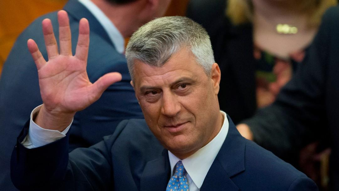 Foto: Fiscalía en La Haya acusa de crímenes de guerra al presidente de Kosovo