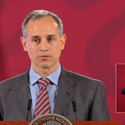López-Gatell: Ocupación hospitalaria por COVID-19 baja en algunas zonas
