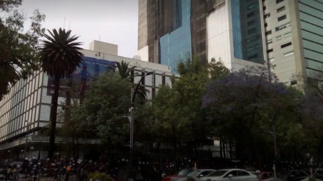 FOTO: Policía resguarda Embajada de EE.UU. y Representación de Jalisco tras actos vandálicos, el 06 de junio de 2020