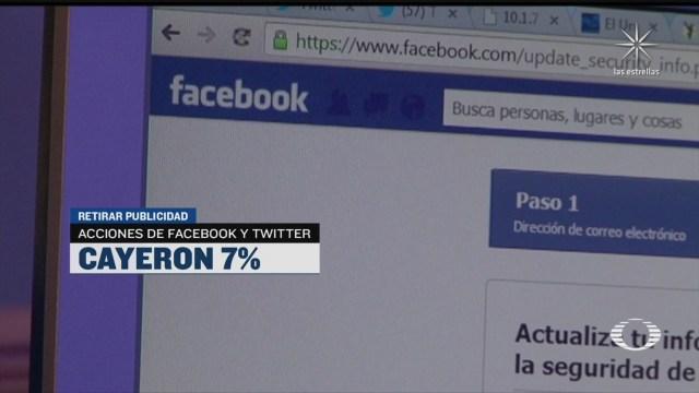 Empresas suspenden gasto de publicidad en Facebook para evitar racismo