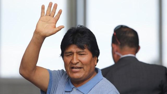 """FOTO: Gobierno interino de Bolivia acusa a Morales de instigar """"golpe de Estado"""", el 20 de junio de 2020"""