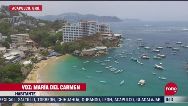 FOTO: 13 de junio 2020, extreman precauciones por altas temperaturas en acapulco guerrero