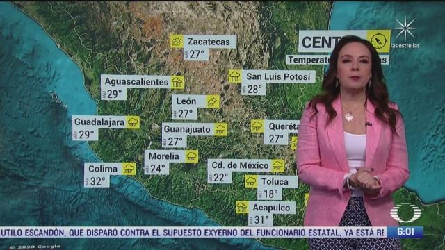 fenomenos meteorologicos provocaran lluvias intensas en mexico