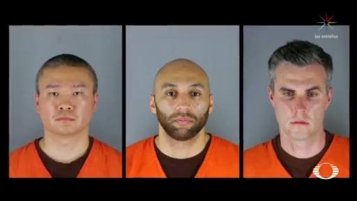 Detienen a policías que participaron en detención de Floyd