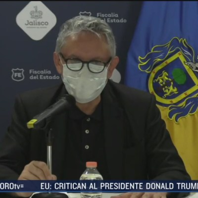 fiscal niega desaparicion de detenidos tras manifestaciones en jalisco