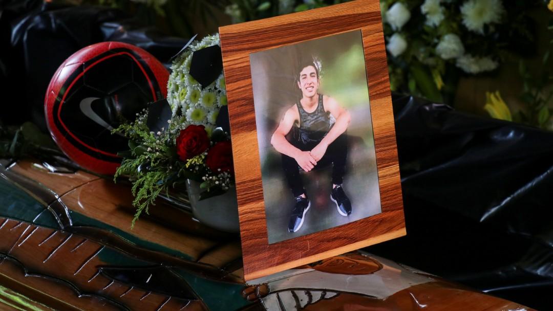 Funeral de Alexander Martínez en Oaxaca. Reuters