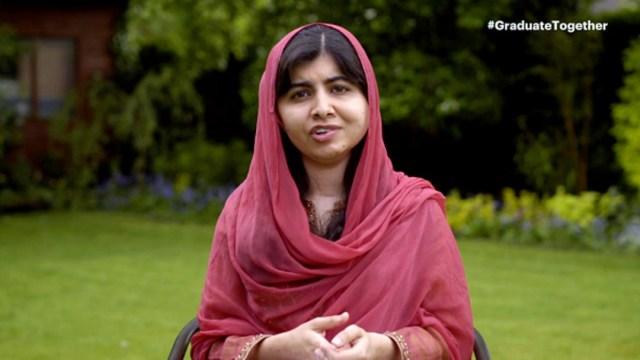 Foto: Malala recibe diploma de la Universidad de Oxford, 19 de junio de 2020, (Getty Images, archivo)