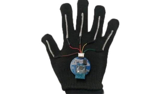 guante traductor de lenguaje de señas