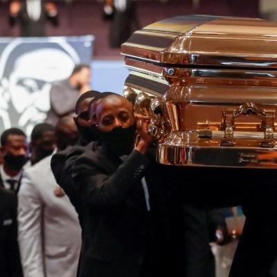 Imágenes del funeral de George Floyd en Houston
