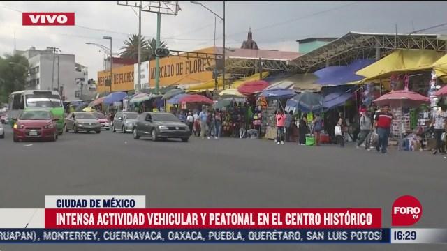 FOTO: 20 de junio 2020, intensa movilizacion peatonal y vehicular en el centro historico de la cdmx
