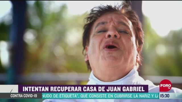 FOTO: intentan recuperar casa de juan gabriel en cancun