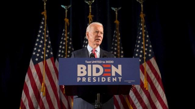 Fotografía del candidato presidencial demócrata Joe Biden. (Foto: EFE)