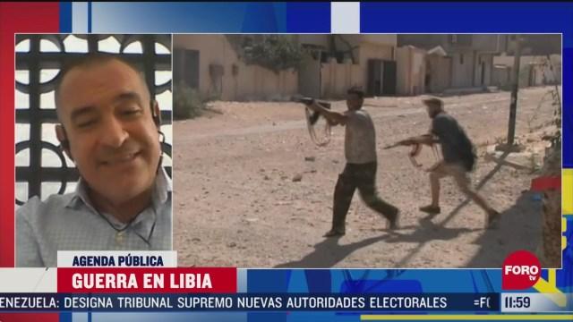 FOTO: 14 de junio 2020, la guerra en libia