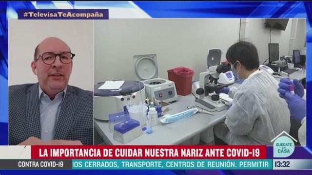 FOTO: la importancia de cuidar nuestra nariz ante el coronavirus