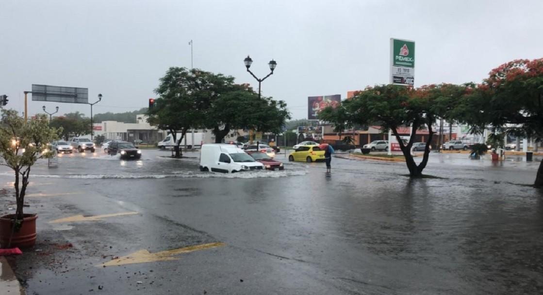Lluvias por 'Cristóbal' provocan inundación en Yucatán