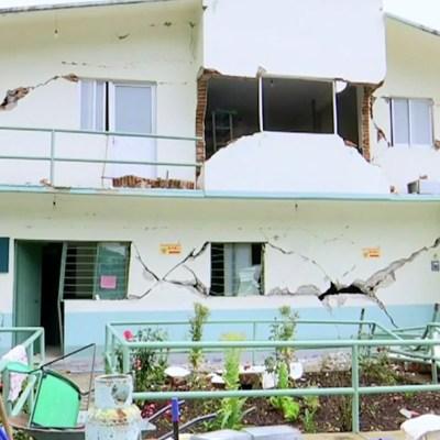 Los Ozolotepec, región de Oaxaca más afectada por sismo de 7.4