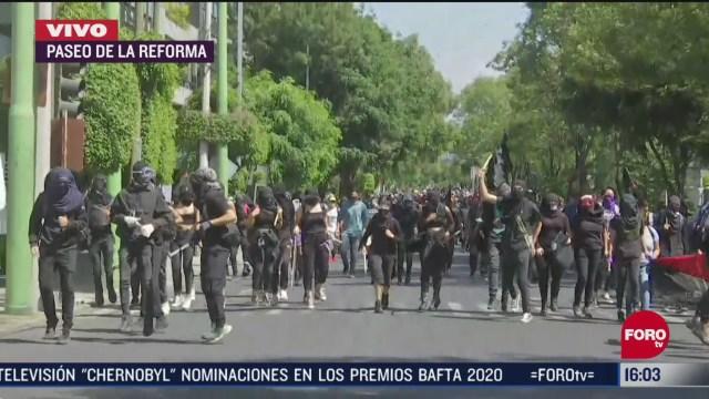 FOTO: manifestantes se dirigen a casa de gobierno de jalisco en cdmx