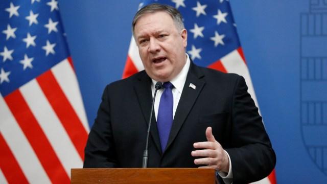 FOTO: Secretario de Estado de los Estados Unidos, el 06 de junio de 2020