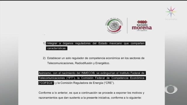 monreal presenta iniciativa para desaparecer tres organismos autonomos
