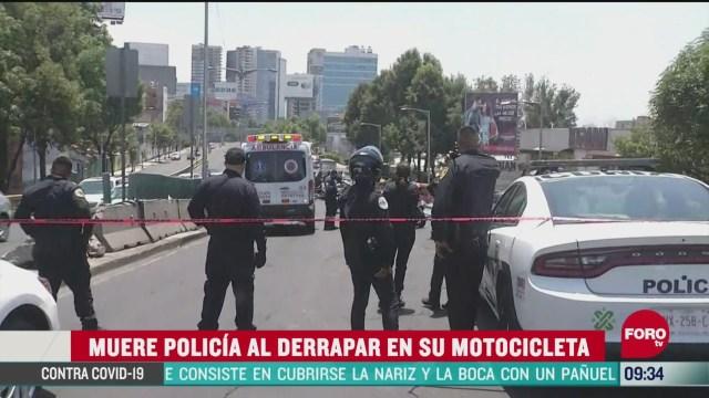 muere policia en la cdmx al intentar detener a delincuentes
