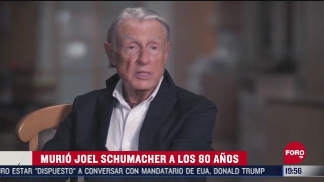joel schumacher muere a los 80 anos