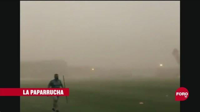 Nube de polvo del Sahara y sus efectos en el ser humano