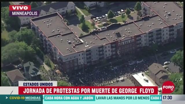 FOTO: nueva jornada de protestas por homicidio de george floyd en minneapolis