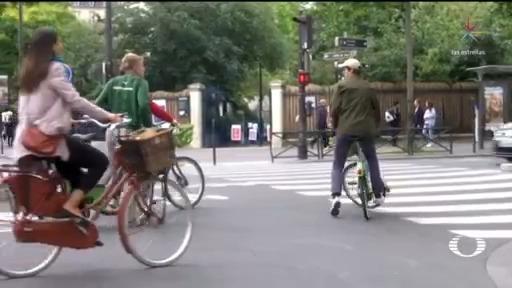 paris regresa a la nueva normalidad en bicicleta