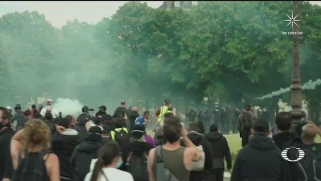 Personal médico protesta en Francia, exigen recursos para el sistema de salud