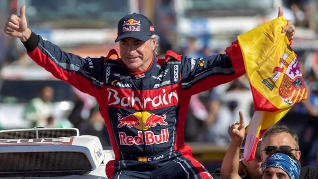 FOTO: El piloto Carlos Sainz gana el Premio Princesa de los Deportes, el 16 de junio de 2020