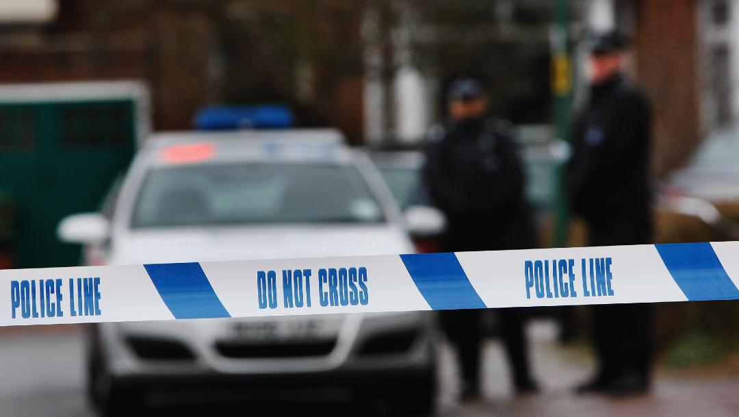 FOTO: Policía británica, el 21 de junio de 2020