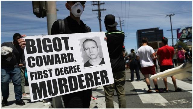 Imagen: Policías afroamericanos denuncian ser víctimas de discriminación, 21 de junio de 2020 (Getty Images)