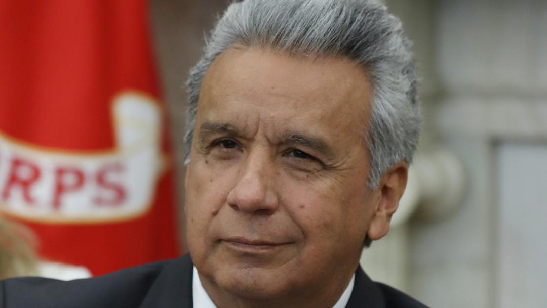 Presidente de Ecuador, Lenín Moreno, indulta a 66 reclusos con mayor riesgo de salud ante el coronavirus