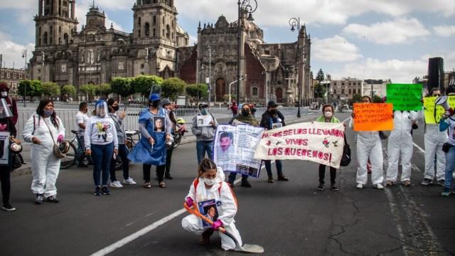 Piden a AMLO más presupuesto para buscar a desaparecidos