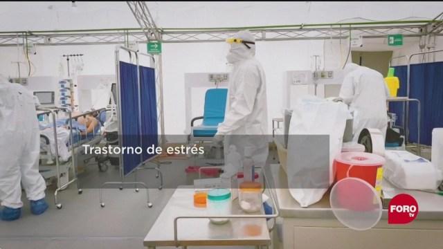 FOTO: 6 de junio 2020, que es el estres postraumatico en medicos