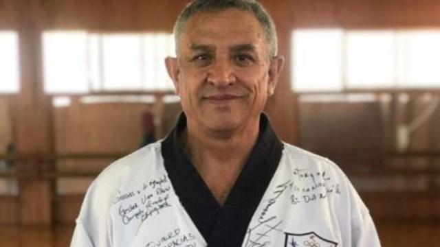 Muere Reinaldo Salazar, padre de los taekwondoínes olímpicos Óscar e Iridia Salazar. (Foto: @COM_Mexico)