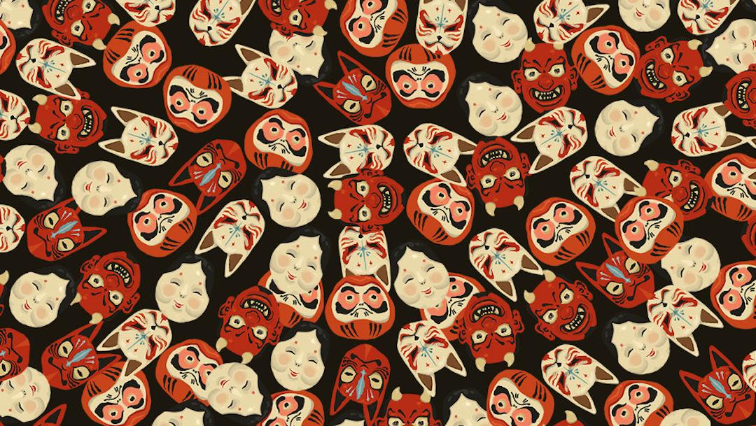 Muy pocos logran encontrar 4 máscaras de chango en la imagen, ¿tú puedes?