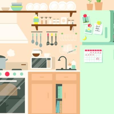 Reto visual: ¿Puedes encontrar los 10 objetos perdidos en esta cocina?