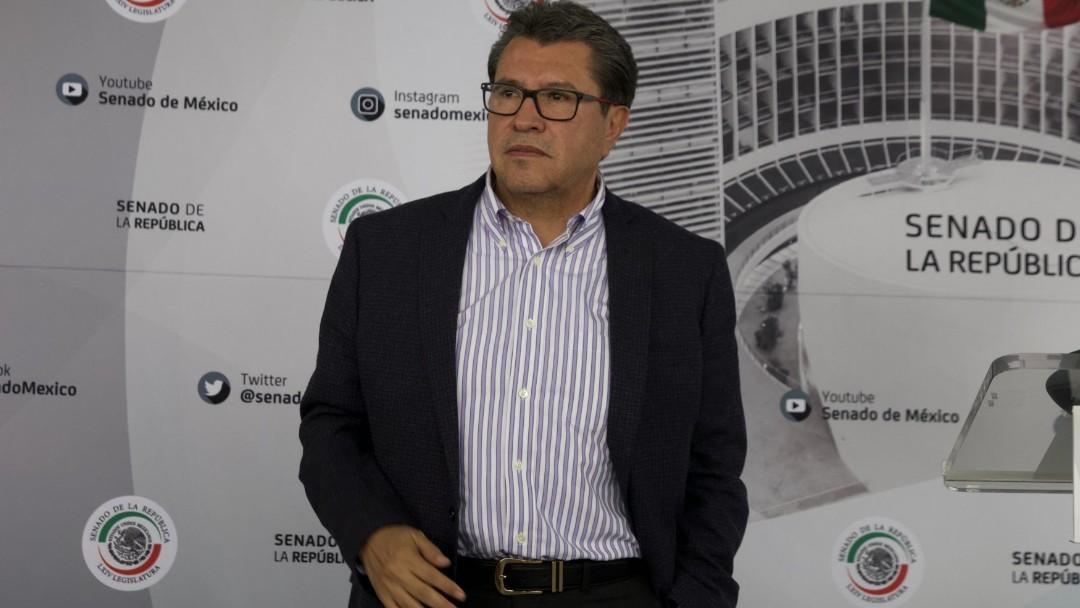 Ricardo Monreal, senador de Morena. Cuartoscuro