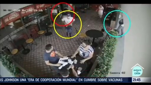 roban a clientes de cafeteria en guadalajara