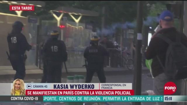 FOTO: se manifiestan en paris por violencia policial