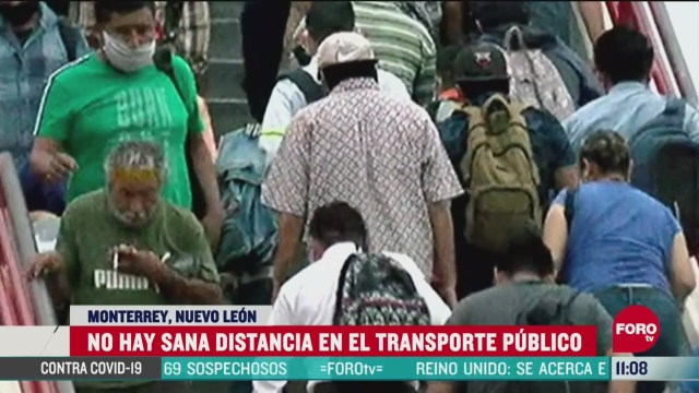 se registra mayor movilidad en el area metropolitana de monterrey