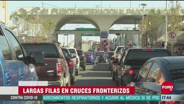 secretaria de salud en chihuahua llama a reducir movilidad en la frontera