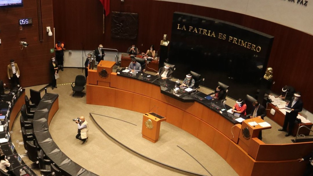 Senado aprueba, en sesión extraordinaria, leyes que actualizan marco jurídico del T-MEC