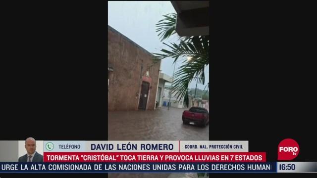 FOTO: sin danos graves por tormentas tropicales proteccion civil