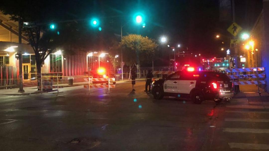 Tiroteo en Austin, Texas, deja cinco personas heridas. (Foto: @CaseyOnFOX7)